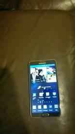 Samsung note 3 lte gold/black