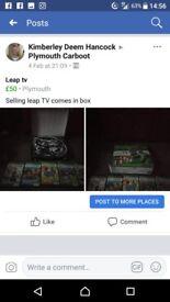 Leap tv games console