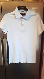 ARMANI SHORT SLEEVED POLO SHIRT SIZE S WORN TWICE