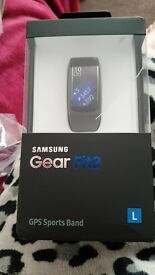 Samsung gear fit 2 brand new and sealed