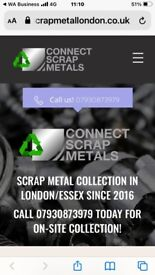 Scrap Metal Wanted Copper Brass Cables Ali Stainless Lead SAMEDAY Service Call Now