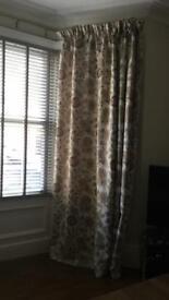 Large bespoke curtains