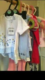 Bundle of baby girls clothes, 3-6 months