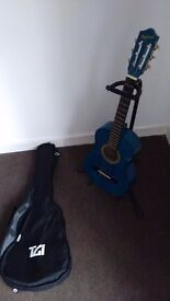 Valerio Junior Guitar with stand and bag