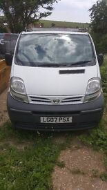 Relaible van with FSH for sale with 10 months MOT and 9 months tax.