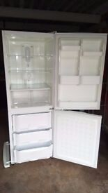 fridge and freezer, in used good condition