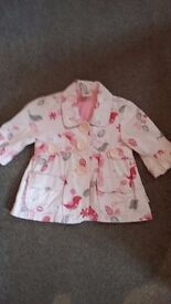 Age 3 girls pumpkin patch flowery jacket