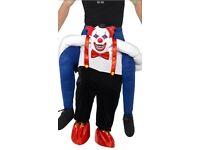 Clown Piggy Back Costume!