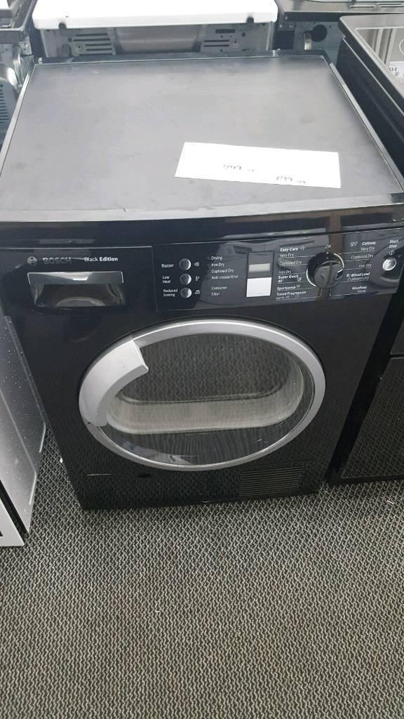 Refurbished Bosch condenser dryer with 6 months guarantee