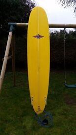 Longboard, 9'1 Shaped by Bear, Good condition