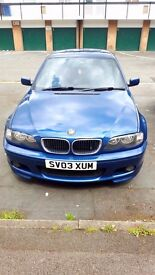 BMW 320D Msport 12 months Mot, 1350 or best offer