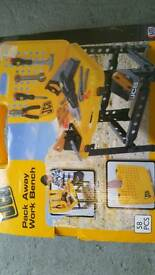 Jcb child's toy work bench