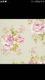 12 metres Clarke & Clarke fabric upholstery blinds curtains