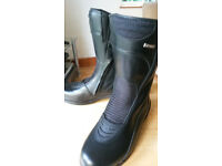 Kids/ladies leather motorcycle boots