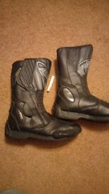 Nitro motor cycle boots size 10