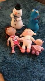 5 Doc Mcstuffing soft toys