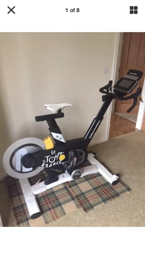 Tour de France bike (Gen 4) indoor Bike 2 months old rrp 1199 spin exercise fitness