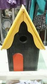 Funky bird house