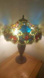 Tiffany lamp multi colour