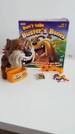 Don't Take Buster's Bones Game