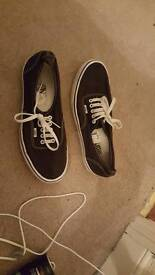 Size 10 vans in very good condition . Only been worn a few times