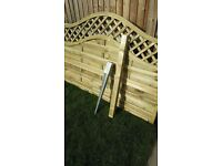Fence/Anchor/Post (10 Available) New.