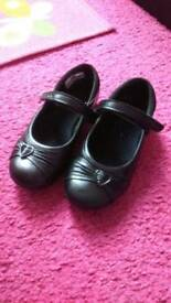 Girl's Black Clark's shoes for sale