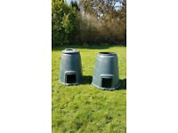 Large compost containers