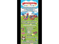 Bouncy Castle Hire £49 Only! Sweet Cart Hire Discounted £59 soft Play Partys £159 Discounted to £119
