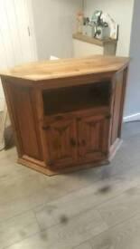 "Wooden tv cabinet 20"" depth 35"" high 44"" wide"