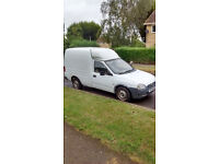 Vauxhall Combi Merit van clean and reliable.