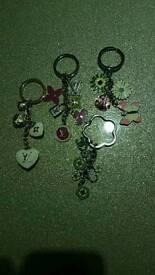 Lovely keyring/ bag charms