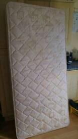 Single divan & mattress