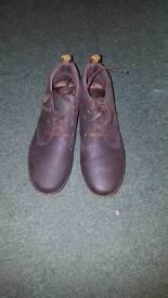 Dr Martin dark brown leather desert boot size 9