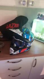 moto x helmet and goggles
