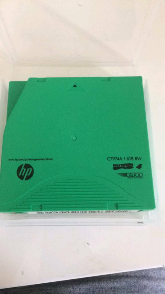 HP Storage media