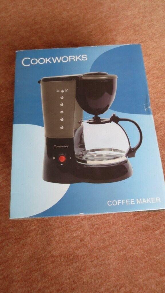 Brand New Cookworks Coffee Maker In South Woodham Ferrers Essex Gumtree