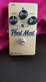 Keeley super phat mod pedal