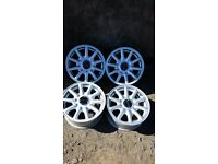 Very nice set of 4 Audi alloys