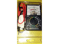 Multimeter 1 x AA Battery operated