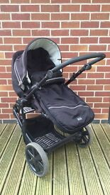 Britax B Smart Travel System Push Chair & Carrycot