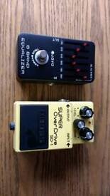Electric Guitar effects pedals