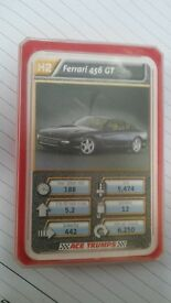 Ace Trumps Card Game - Cars