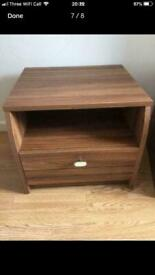 2 x Bed side table