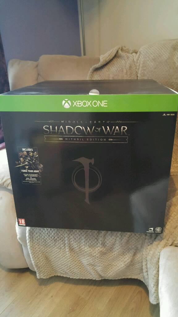 Xbox one Shadow of War mithril edition