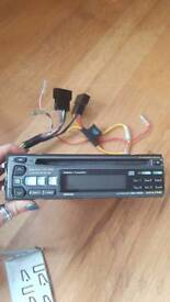 Alpine 6 disk CD auto changer and cd player car stereo