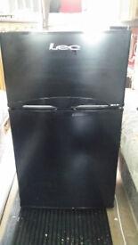 Under counter Fridge Freezer in Black