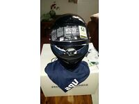 NEW AGV K-5 Solid Black Size ML Motorcycle helmet £125 New Cost £199!