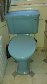 FREE CAST IRON BATH AND TOILET WITH CISTERN