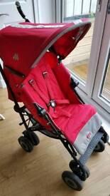Maclaren XT Stroller - Red